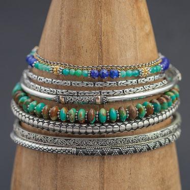 Srebrny łańcuszek 75 cm