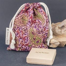 Duży woreczek na biżuterię - fiolet