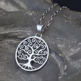 """Srebrny wisior """"drzewo życia"""""""