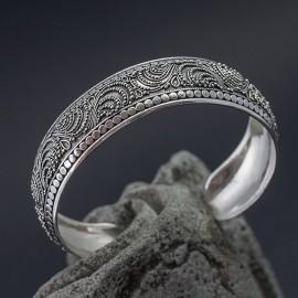 Srebrna bransoleta bangla