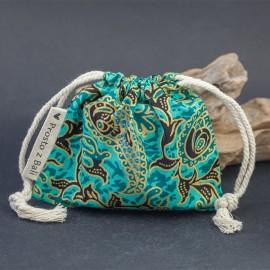 Mały woreczek na biżuterię - morski