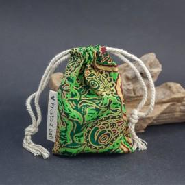 Mały woreczek na biżuterię - zieleń
